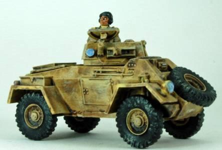 8 Th Army Daimier Armoured Car