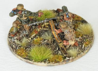 Afrika Korps Medium Mg Team