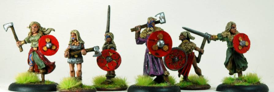 Andrew\'s Red Shield Characters