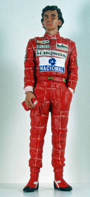 Ayrton Senna Front