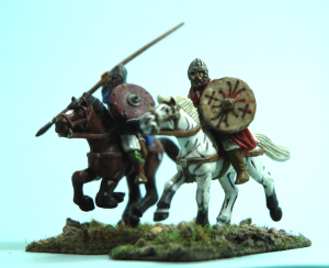 Gripping Beast Arthurian mounted warriors