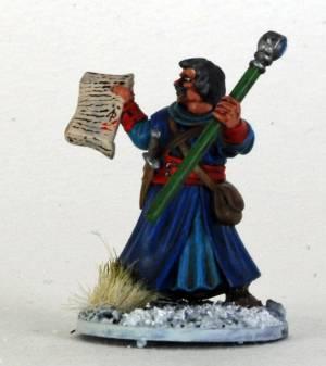 FG Plastic Male Wizard F Scrole