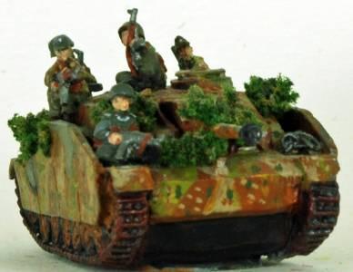 FoW Stug With Tank Riders F