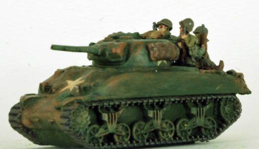 FoW US Sherman With Tank Riders F