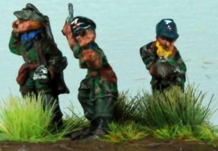 FoW Von Der Heydte Command Team