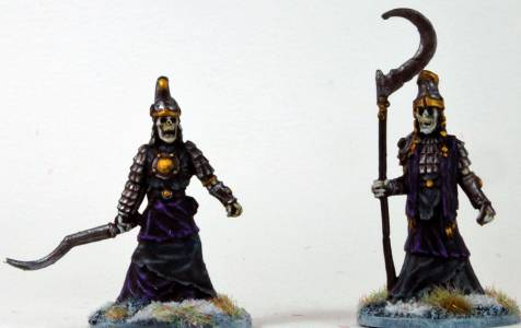 Frostgrave Armoured Skeletons