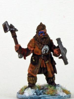 Frostgrave Barbarian Axeman 1 (F)