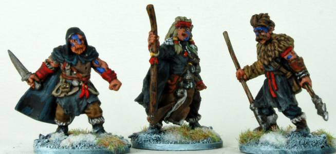 Frostgrave Barbarian Characters One