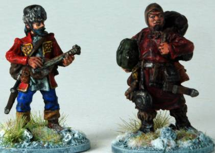 Frostgrave Bard & Pack Mule (2)
