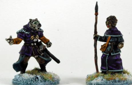 Frostgrave Beastcrafter & Apprentice