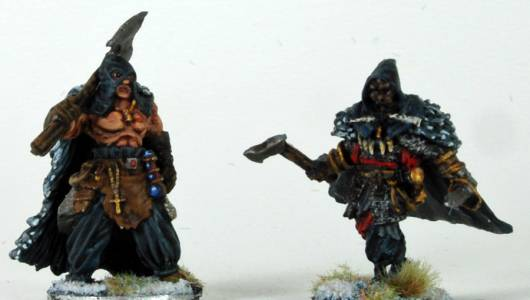 Frostgrave Cultist Captains