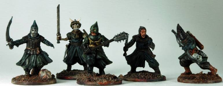 Frostgrave Cultists Group 1-5