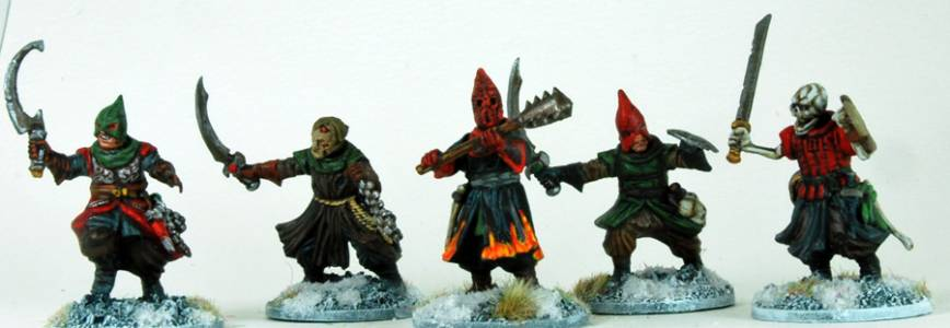 Frostgrave Cultists Group 6=10