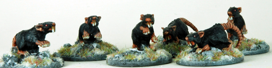 Frostgrave Giant Rats