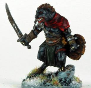 Frostgrave Gnoll Warlord