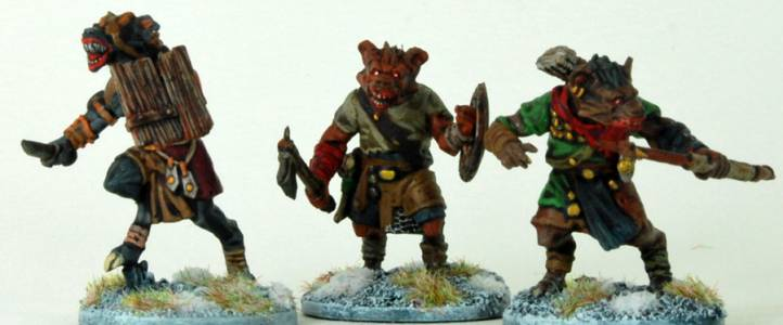 Frostgrave Gnoll Fighters