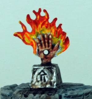 Frostgrave Lich Lord Treasure Token Hand