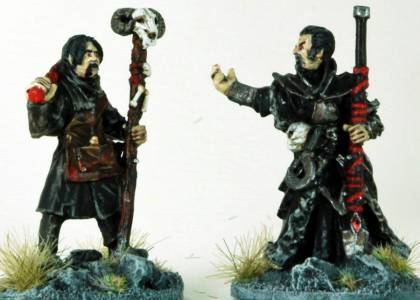 Frostgrave Niecromancer & Apprentice