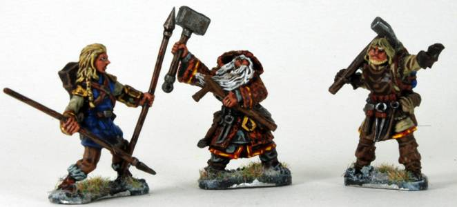 Frostgrave, Tony\'s Characters
