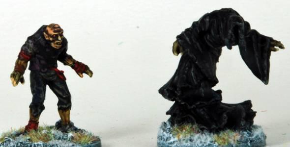 Frostgrave Vampire & Frost Wraith