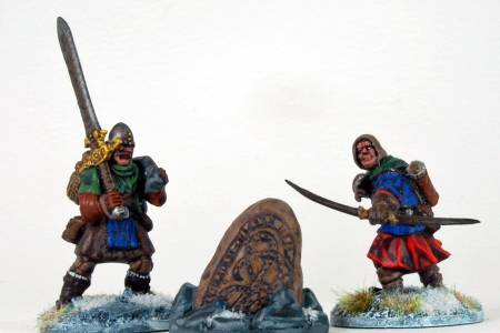 Frostgrave Soldiers With Runes Marker