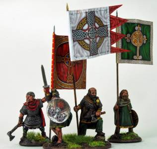 Gripping Beast Dark Age Irish War Banners