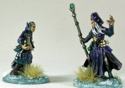 Lich Wizard & Apprentice
