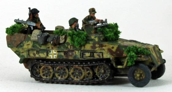 Sd Kfz 251 1D Half Track One R