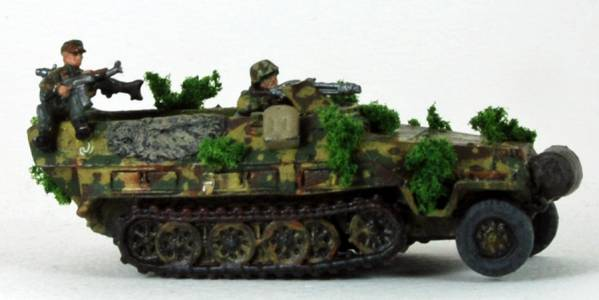 Sd Kfz 251 1D Half Track Two 2 Man R