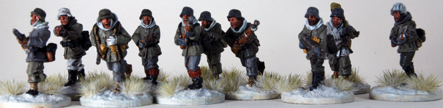 Squad (10) German Winter F