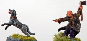 Warlord Games Hound With Handler